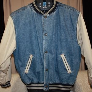 Vintage Fridays Front Row Sports Grill Jacket